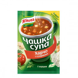 Суп Харчо Knorr с сухариками 16гр.