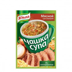 Суп мясной Knorr с лапшой 16гр.