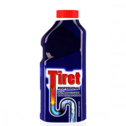Гель Tiret «Professional» для устранения засоров 500мл.