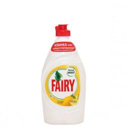 Средство Fairy для мытья посуды «Лимон» 450мл.