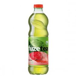 Холодный чай FuzeTea зеленый «Клубника и Малина» 1 л.