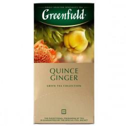 Чай зеленый Greenfield «Queen's Ginger» 25пак.