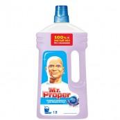 Жидкость моющая для полов и стен Mr. Proper «Лавандовое спокойствие», 1л.