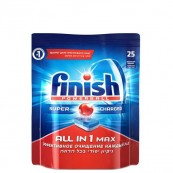 Таблетки для посудомоечных машин Finish «All in 1 max» 25 шт.