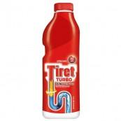 Гель Tiret Турбо для устранения засоров, 500мл.