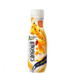 Йогурт питьевой Слобода 2,0% с грушей и злаками 290гр.