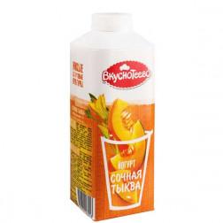 Йогурт Вкуснотеево питьевой Сочная тыква 1,5% 750гр.