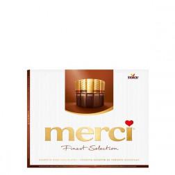 Конфеты  Merci «Ассорти из темного и молочного» 250гр.