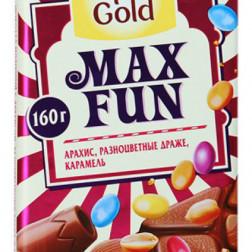 Шоколад Alpen Gold Max Fun Фрукты и ягоды 160г.