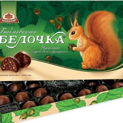 Набор конфет Бабаевская «Белочка» 400гр.