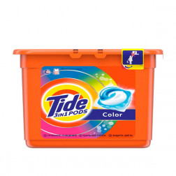 Капсулы для стирки Tide Color 3 в 1, 23 шт.