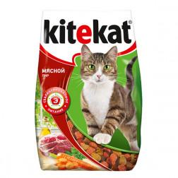 Корм для кошек Kitekat Мясной пир (сухой) 350 гр.