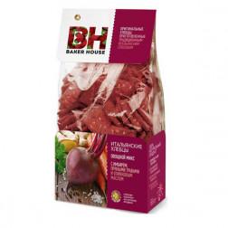 ИТАЛЬЯНСКИЕ ХЛЕБЦЫ Овощной микс с имбирем,пряными травами и оливковым маслом «BAKER HOUSE»  250 гр.