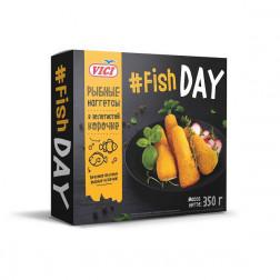 Рыбные наггетсы  «Fish DAY» VICI ,350гр.
