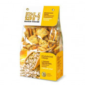 ИТАЛЬЯНСКИЕ ХЛЕБЦЫ «BAKER HOUSE»с семенами подсолнечника,оливковым маслом и морской солью 250 гр.