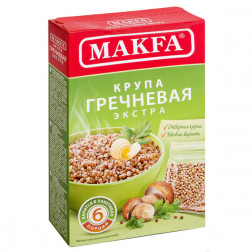 Гречневая Makfa экстра (порционная) 6 х 80 гр.