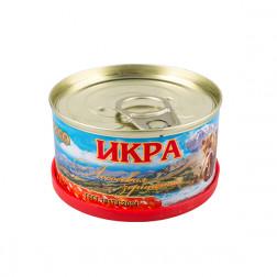 Икра красная  ЛОСОСЕВАЯ зернистая(НЕРКА)»Медведь»,130 гр.Авистрон