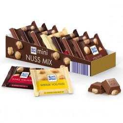 Шоколад Ritter Sport «Мини-Микс с цельным орехом» 3 вкуса 116 гр.