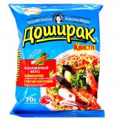 Лапша Доширак Квисти со вкусом морепродуктов 70гр.