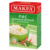 Рис Makfa длиннозерный пропаренный (порционный) 6 х 80 гр.