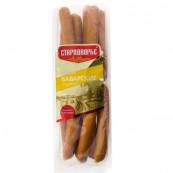 Сосиски Баварские с сыром Вязанка 420 гр