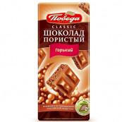 Шоколад пористый «Победа» Темный 65гр