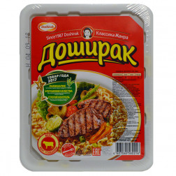 Лапша Доширак вкус говядины 90гр.