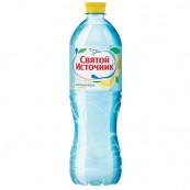 Вода питьевая + лимон Святой Источник н/газ 0,5л