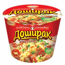 Лапша Доширак Сытый обед вкус говядины 110гр.