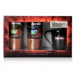 Кофе Jardin подарочный с стеклянной кружкой 190г