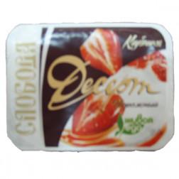 Десерт творожный «Клубника и шоколад», 125 гр