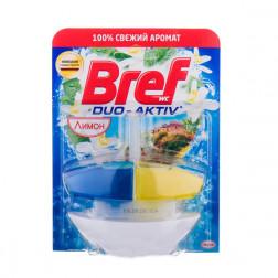 Контейнеры для унитаза Bref DUO-AKTIV лимон