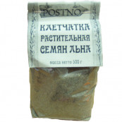 Клетчатка растительная семян льна POSTNO 500 гр.