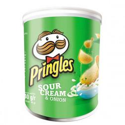 Картофельные чипсы Pringles Sour & Onion , 40 гр.