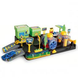 Автопарковка-автомойка с 2 машинками и аксессуарами