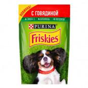Корм для собак Friskies с говядиной 85 гр.