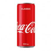 Напиток Coca-Cola сильногазированный ж.б., 0,33л. Акция