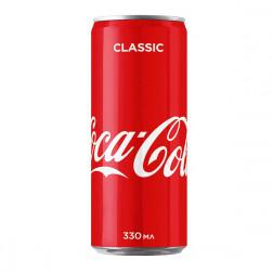 Напиток Coca-Cola сильногазированный ж.б., 0,33л.