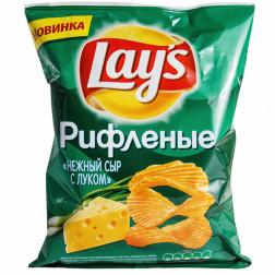 Чипсы Lays сыр и лук, 150 гр.