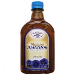 Масло  Льняное «Здоровый вкус» нераф. 750мл