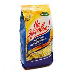 Хлопья Кукурузные без сахара, 325 гр