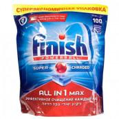 Таблетки для посудомоечных машин Finish «All in 1 max» 100 шт.