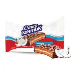 Печенье-сэндвич Konti Супер-Контик кокос 100гр.