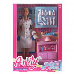 Кукла «доктор» с аксессуарами