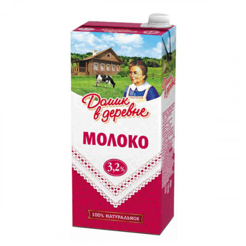 молоко-домик