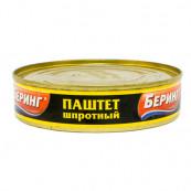 Паштет шпротный Беринг, 160 гр.