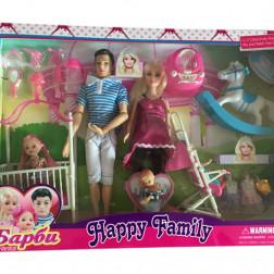 Набор кукол «Счастливая семья»