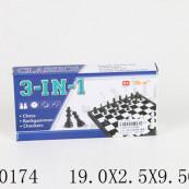 Шахматы магнитные 3 в 1.