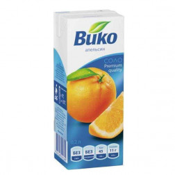 Сок Вико апельсин 0,2л.