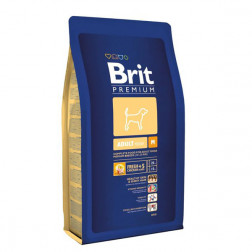 Корм для собак Brit PREMIUM ADULT medium, 3кг